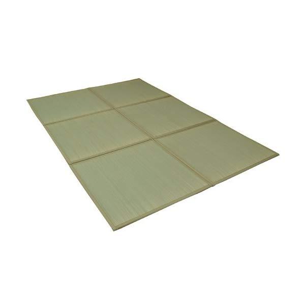 (メーカー直送)(代引不可)(ユニット畳)い草 置き畳 防音 低反発 6枚組(6P) 『しずか』 約82×82×2.2cm(イケヒコ)(ラッピング不可)