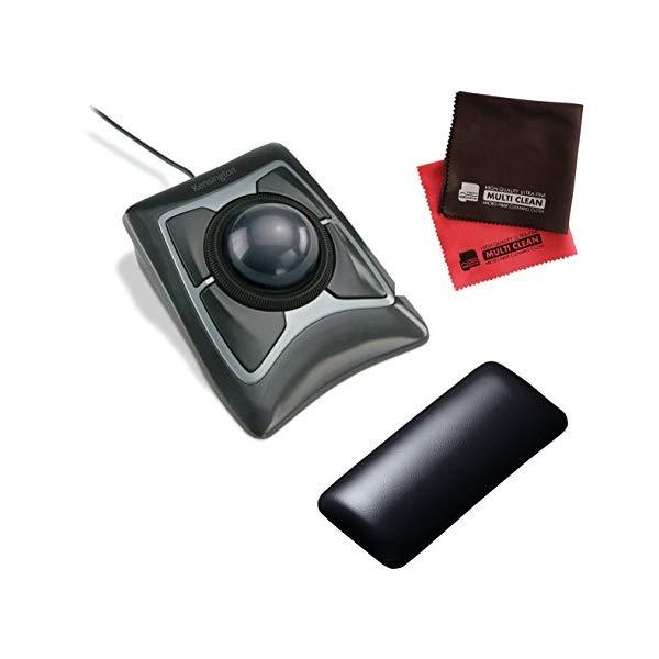 (★リストレストセット)(正規品) ケンジントン (トラックボール) Expert Mouse Optical Trackball 64325 (ラッピング不可)