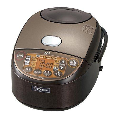 (5.5合)象印 (炊飯器)(NP-VI10-TA)IH炊飯ジャー 極め炊き 5.5合炊き ブラウン(ラッピング不可)