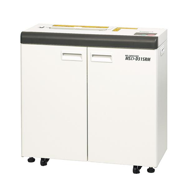 (搬入設置費込)明光商会(シュレッダー)(MSD-D31SRM)オフィスシュレッダー スパイラルカット(約7×10mm)メディア細断可能 MSDシリーズ(メーカー直送)(ラッピング不可)