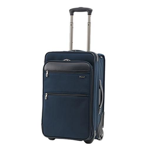 (1~2泊用) パスファインダー (スーツケース) Revolution XT DAX トロリー (PF6822DAXB) (22インチ/約37~53L) ネイビー (ラッピング不可)