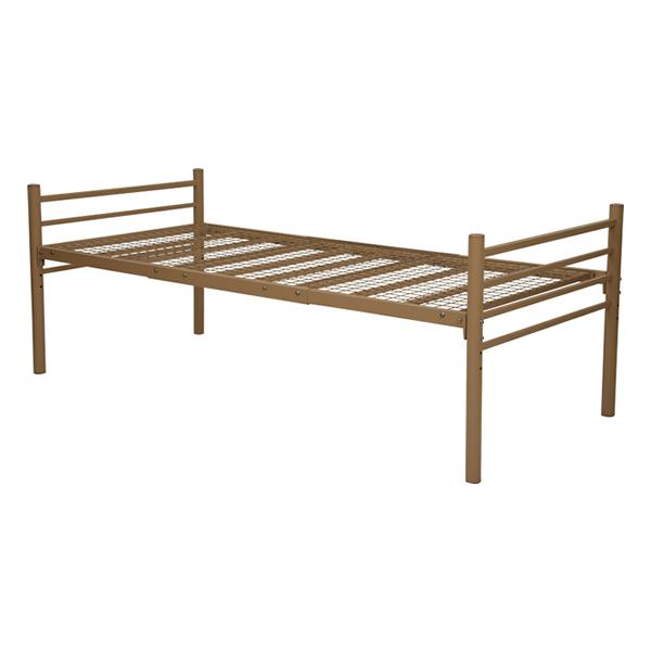 ワイドロングサイズ シングル ベッド ロングベッド キャラメルブラウン KH-3951M-LT 萩原株式会社(メーカー直送)(ラッピング不可)