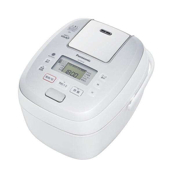 5.5合炊き パナソニック 炊飯器 SR-PB109-W 可変圧力 IHジャー炊飯器 おどり炊き ホワイト(ラッピング不可)