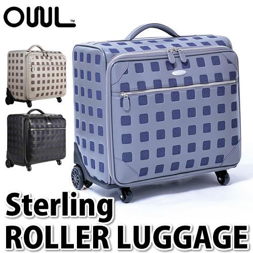 【キャリーバッグ】OWL オウル(OUUL) Sterling ROLLER LUGGAGE (ST6RO) 【ラッピング不可】