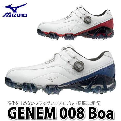 MIZUNO(ミズノ)GENEM 008 Boa (EEE) 51GM1800 (スパイクゴルフシューズ)(ラッピング不可)