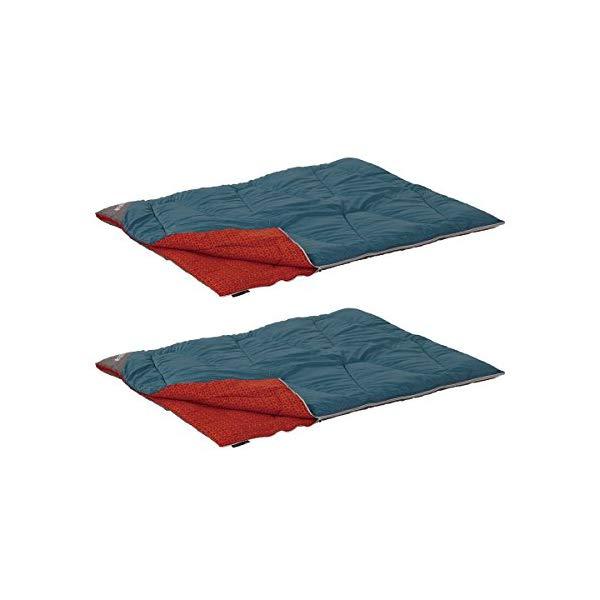 LOGOS(ロゴス) 72600240 ミニバンぴったり寝袋・-2(冬用) 2個セット(封筒型シュラフ)(ラッピング不可)