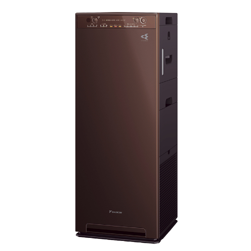 DAIKIN ダイキン 加湿ストリーマ空気清浄機 ACK55U-T ディープブラウン [DAIKIN MCK55U同等品](加湿空気清浄器/スリムタワー型)(ラッピング不可)
