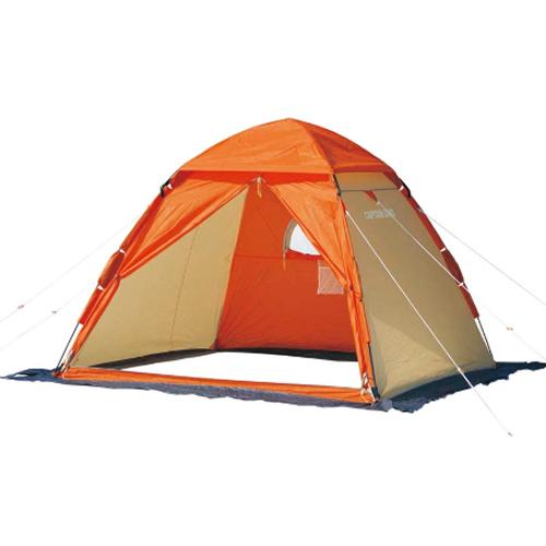 キャプテンスタッグ ワカサギ釣りワンタッチテント210 コンパクト(M-3131) オレンジ