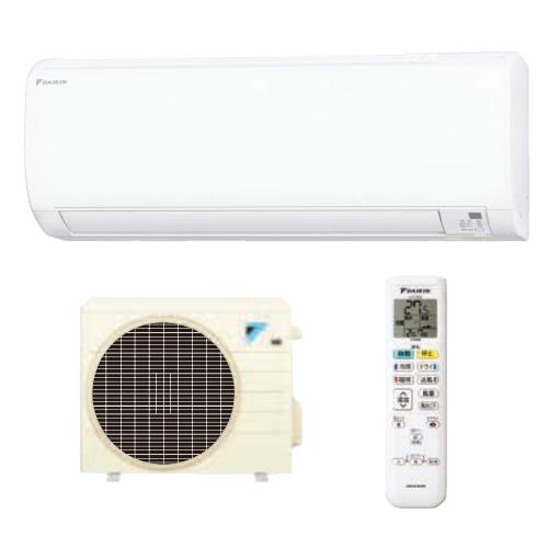 DAIKIN ダイキン 冷暖エアコン S22WTES-W(F22WTESW+R22WES)ホワイト(Eシリーズ/6畳程度)(ラッピング不可)