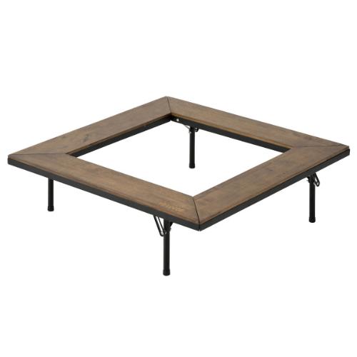ロゴス LOGOS アイアンウッド囲炉裏テーブル(81064133)(BBQ用アウトドアテーブル)(ラッピング不可)