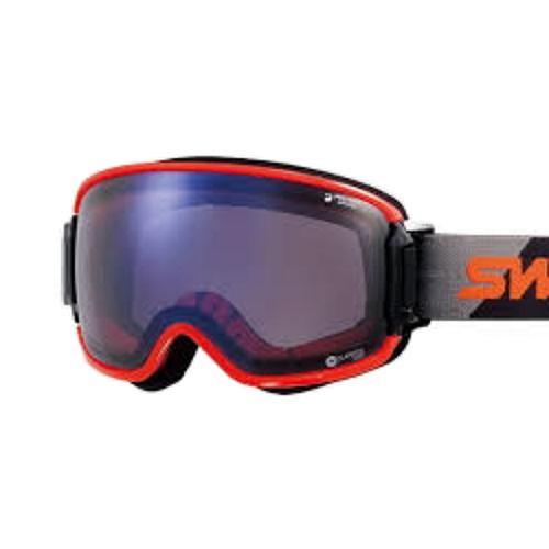SWANS スワンズ RIDGELINE-CU MDH-SC-PAF BK/OR(フレーム/ブラック×オレンジ)(レンズ/アイスミラー×ウルトラライトパープル調光)(スノーゴーグル)