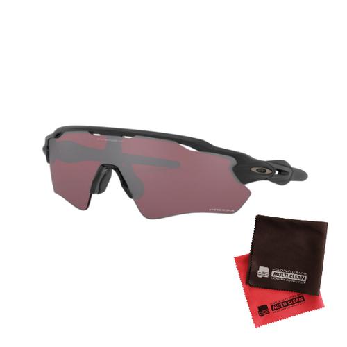 オークリー RADAR EV PATH Prizm Snow Black レンズ(Matte Blackフレーム)OO9208-9638&マイクロファイバークロス 2点セット(サングラス)OAKLEY