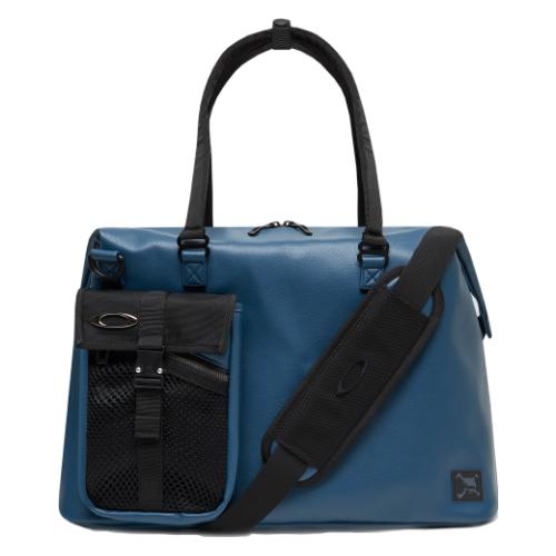 オークリー SKULL BOSTON BAG 14.0(MARINE BLUE)FOS900202-61G(容量27L)(スカル ボストンバッグ)(シューズポケットあり)(Oakley)(ラッピング不可)
