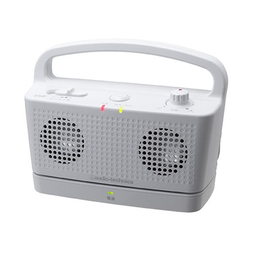 オーディオテクニカ(audio-technica) デジタルワイヤレスステレオスピーカーシステム AT-SP767TV WH ホワイト