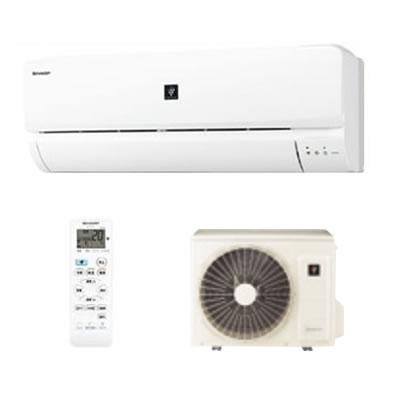 (台数限定特価)(~6畳用)SHARP(シャープ) AC-227FT-W ホワイト ルームエアコン 高濃度プラズマクラスター7000 (AC227FTW)(ラッピング不可)