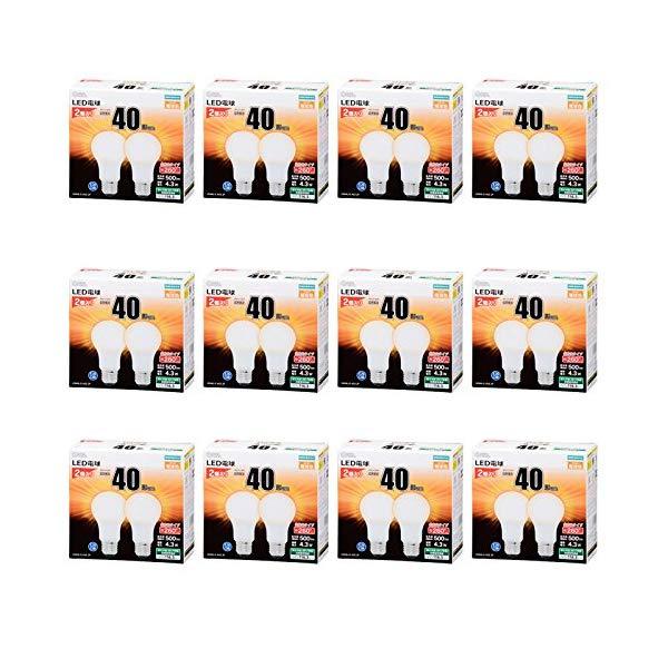 大きな取引 【12個セット】オーム電機 LED電球 LDA4L-G LDA4L-G AG5 2P (06-1743) E26 [40形相当 [40形相当 E26 電球色], アオバク:b3e3fa0c --- business.personalco5.dominiotemporario.com