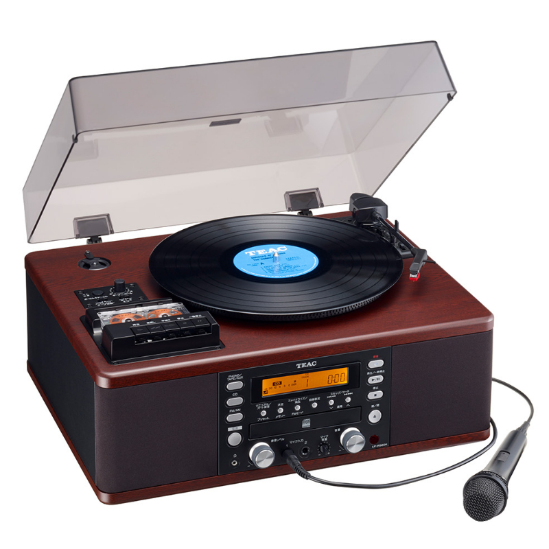 (マルチプレーヤー) TEAC(ティアック) LP-R560K(LPR560K) ターンテーブル/カセットプレーヤー付きCDレコーダー (ラッピング不可)