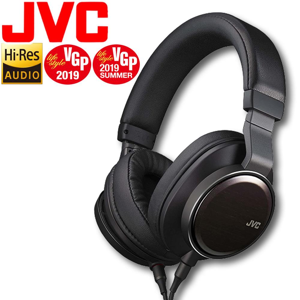 ハイレゾヘッドホン JVC HA-SW01 WOOD01 ブラック ヘッドホン ハイレゾ 黒 ハイレゾ対応ヘッドホン ハイレゾヘッドホン Hi-Res ハイレゾリューション ヘッドフォン ウッドハウジング
