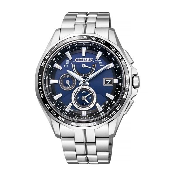 【国内正規品】 CITIZEN(シチズン) 【腕時計】 AT9090-53L ATTESA [アテッサ] [AT909053L] 【ソーラー電波 チタンバンド 多針アナログ メンズ】