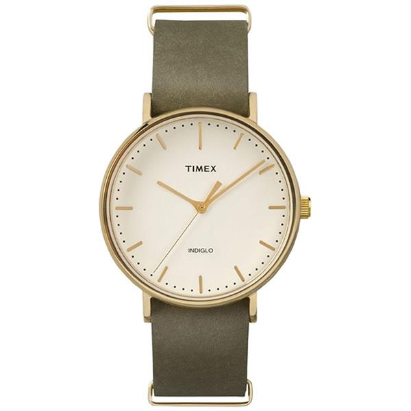 【正規輸入品】TIMEX(タイメックス) 【腕時計】 TW2P98000 Fairfield【クオーツ アナログ 革バンド メンズ】