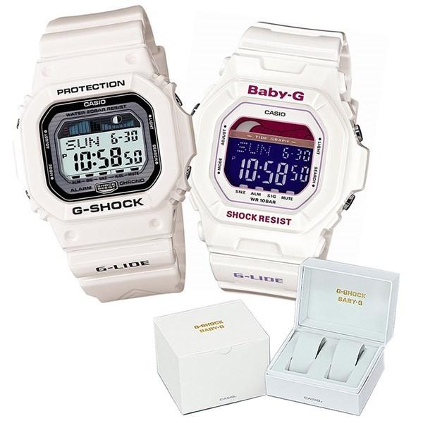 【専用ペア箱付きセット】 【国内正規品】 CASIO(カシオ) 【腕時計】 GLX-5600-7JF G-SHOCK メンズ・BLX-5600-7JF BABY-G レディース・カシオ専用ペア箱 セット