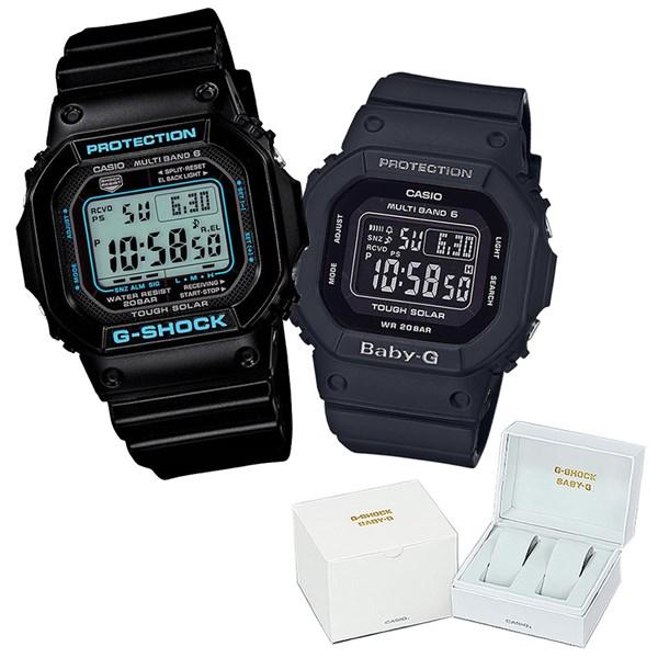 【専用ペア箱付きセット】 【国内正規品】 CASIO(カシオ) 【腕時計】 GW-M5610BA-1JF G-SHOCK メンズ・BGD-5000MD-1JF BABY-G レディース・カシオ専用ペア箱 セット