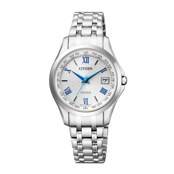 【国内正規品】[シチズン]CITIZEN 腕時計 EC1120-59B [エクシード]EXCEED エコ・ドライブ電波 ダイレクトフライト レディース[EC112059B]【チタンバンド アナログ】