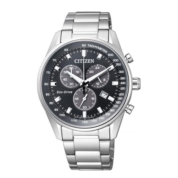 【無料バンド調整可】【国内正規品】[シチズン]CITIZEN 腕時計 AT2390-58E Cコレクション メンズ エコ・ドライブ クロノグラフ[AT239058E]【多針アナログ】