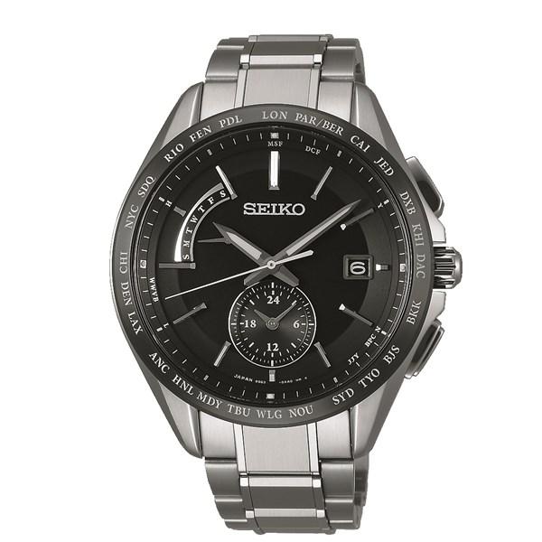 【国内正規品】[セイコー]SEIKO 腕時計 [ブライツ]BRIGHTZ SAGA233 メンズ【チタンバンド 多針アナログ ソーラー電波時計】