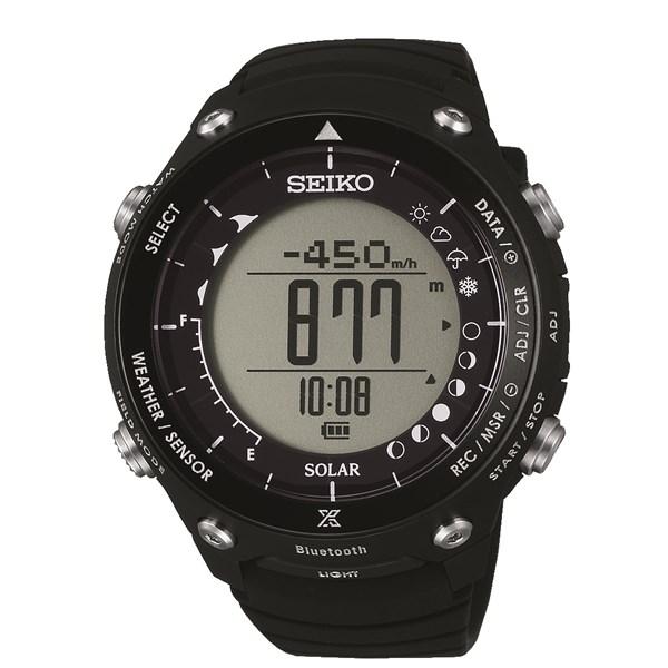 【国内正規品】[セイコー]SEIKO 腕時計 SBEM003 [プロスペックス]PROSPEX ブラック×ALブラック PROSPEX LAND TRACER【シリコンバンド ソーラー デジタル】