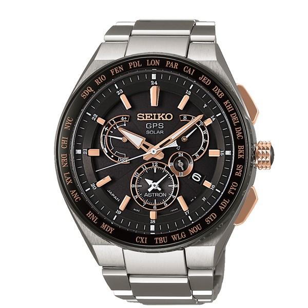 【国内正規品】[セイコー]SEIKO 腕時計 SBXB125 [アストロン]ASTRON メンズ【チタンバンド ソーラーGPS 多針アナログ】