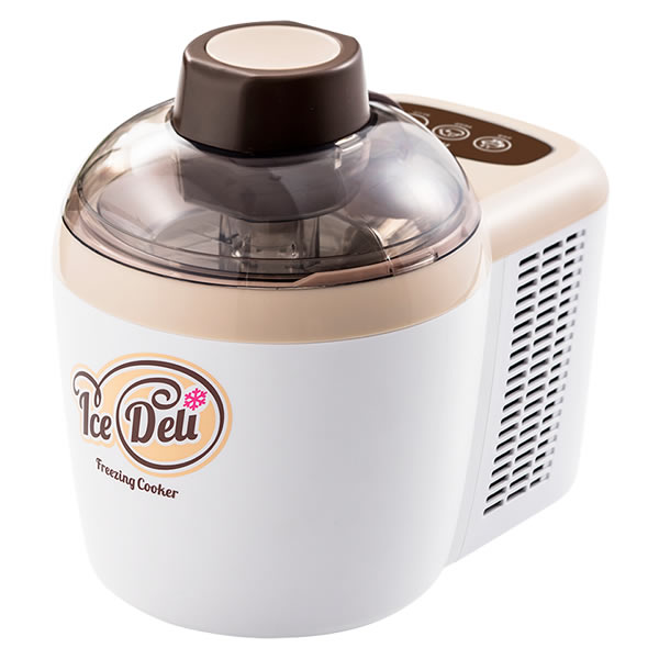 ハイアール(Haier)【アイスクリームメーカー】JL-ICM710A-W アイスデリ ホワイト フリージング・クッカー【自宅アイス入門モデル】