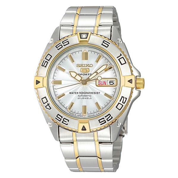 【正規逆輸入品】[海外セイコー]SEIKO 腕時計 SNZB24J1(SNZB24JC) SEIKO5 セイコー5 メンズ【ステンレスバンド 自動巻き アナログ表示】