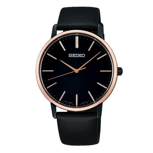 (国内正規品)(セイコー)SEIKO 腕時計 SCXP078 (セイコーセレクション)SEIKO SELECTION ゴールドフェザー メンズ【牛皮革(カーフ)バンド クオーツ アナログ表示】