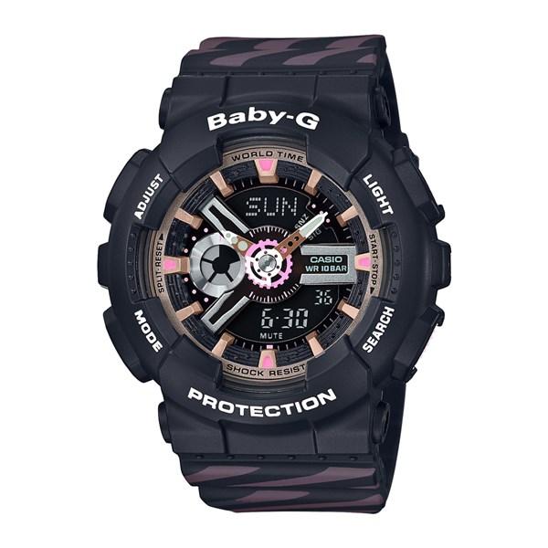 (国内正規品)(カシオ)CASIO 腕時計 BA-110CH-1AJF (ベビーG)BABY-G レディース 限定モデル(樹脂バンド クオーツ アナデジ)