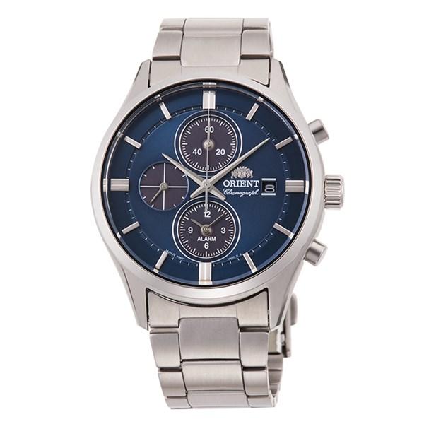 【国内正規品】(オリエント)ORIENT 腕時計 RN-TY0003L (コンテンポラリー)CONTEMPORARY メンズ クロノグラフ(ステンレスバンド ソーラー 多針アナログ)