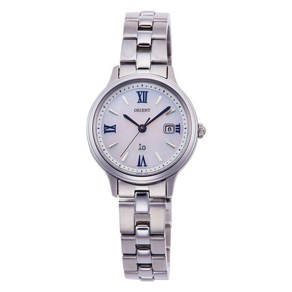 【国内正規品】(オリエント)ORIENT 腕時計 RN-WG0007A io(イオ) ナチュラル&プレーン レディース(ステンレスバンド ソーラー アナログ)