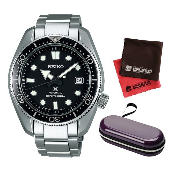 (セット)(国内正規品)(セイコー)SEIKO 腕時計 SBDC061 (プロスペックス)PROSPEX メンズ 1968 メカニカルダイバーズ 現代デザイン&腕時計ケース1本用・クロス2枚(ステンレスバンド 自動巻き アナログ)