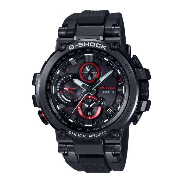 (国内正規品)(カシオ)CASIO 腕時計 MTG-B1000B-1AJF (ジーショック)G-SHOCK メンズ MT-G(樹脂バンド 電波ソーラー 多針アナログ)