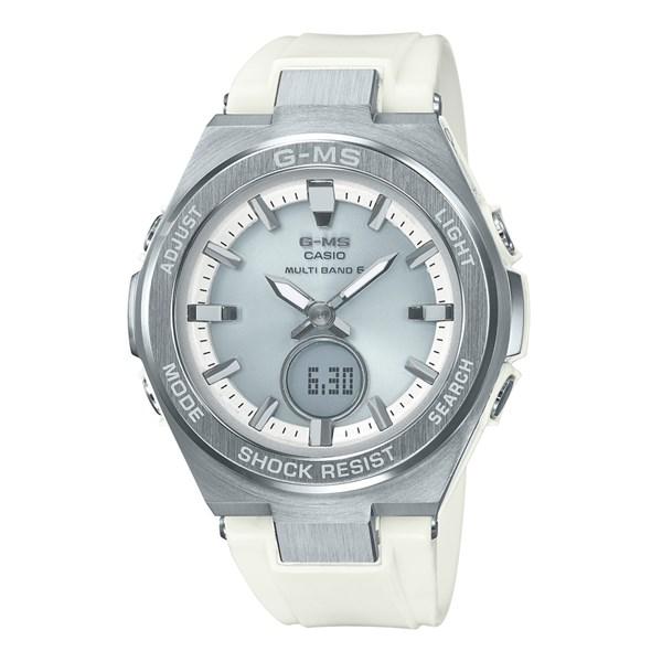 (国内正規品)(カシオ)CASIO 腕時計 MSG-W200-7AJF (ベビーG)BABY-G レディース G-MS(樹脂バンド 電波ソーラー アナデジ)