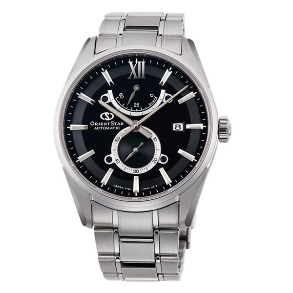 (国内正規品)(オリエントスター)ORIENTSTAR 腕時計 RK-HK0003B コンテンポラリー メンズ スリムデイト(ステンレスバンド 自動巻き(手巻付) 多針アナログ)