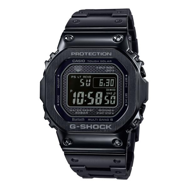 (国内正規品)(カシオ)CASIO 腕時計 GMW-B5000GD-1JF (ジーショック)G-SHOCK メンズ ブラック(ステンレスバンド 電波ソーラー デジタル)