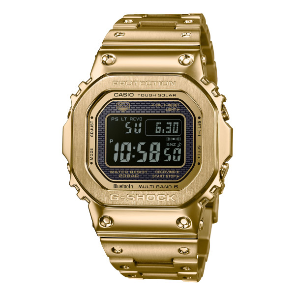 (国内正規品)(カシオ)CASIO 腕時計 GMW-B5000GD-9JF (ジーショック)G-SHOCK メンズ ゴールド(ステンレスバンド 電波ソーラー デジタル)