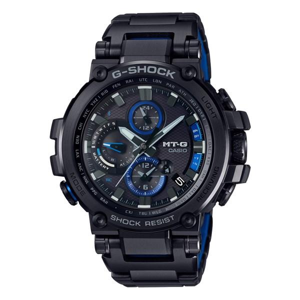 (国内正規品)(カシオ)CASIO 腕時計 MTG-B1000BD-1AJF (ジーショック)G-SHOCK メンズ Bluetooth搭載(電波ソーラー 多針アナログ)