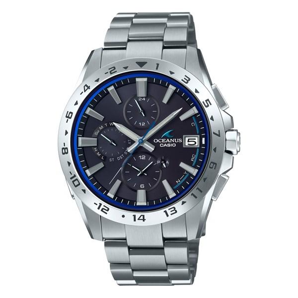 (国内正規品)(カシオ)CASIO 腕時計 OCW-T3000-1AJF (オシアナス)OCEANUS メンズ クラシックライン Bluetooth搭載(チタンバンド 電波ソーラー 多針アナログ)