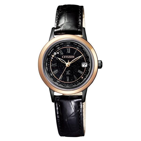 (国内正規品)(シチズン)CITIZEN 腕時計 EC1144-26E (クロスシー)xC レディース ティタニアライン ハッピーフライト サクラピンク 100周年記念限定モデル(ワニ革バンド 電波ソーラー アナログ)