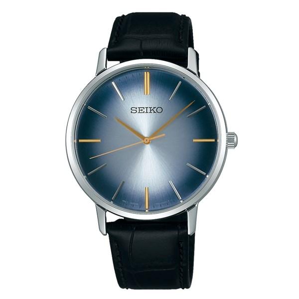 (国内正規品)(セイコー)SEIKO 腕時計 SCXP125 セイコーセレクション メンズ ゴールドフェザー 流通限定モデル(牛革バンド クオーツ アナログ)