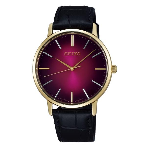 (国内正規品)(セイコー)SEIKO 腕時計 SCXP128 セイコーセレクション メンズ ゴールドフェザー 流通限定モデル(牛革バンド クオーツ アナログ)