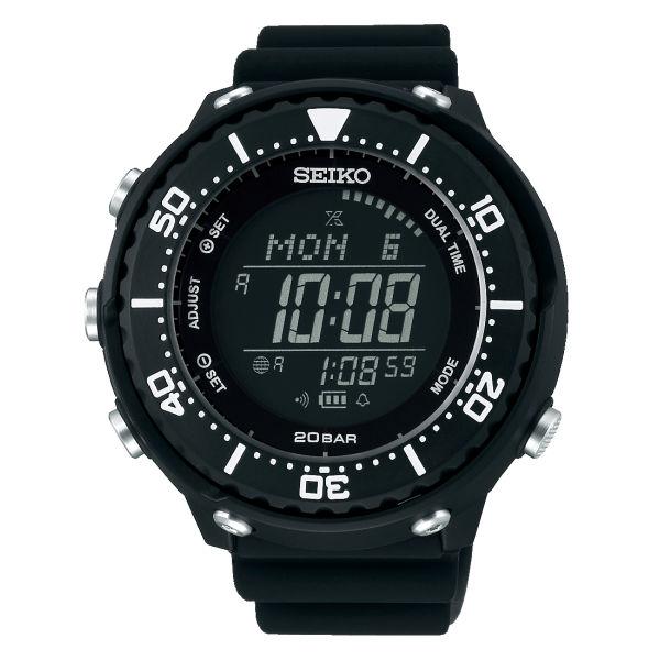 (国内正規品)(セイコー)SEIKO 腕時計 SBEP013 (プロスペックス)PROSPEX メンズ フィールドマスター LOWERCASE プロデュースモデル(樹脂バンド ソーラー デジタル)