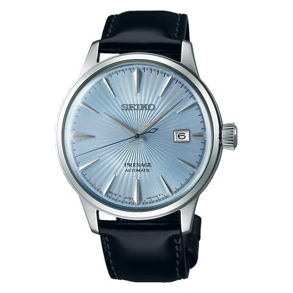 (国内正規品)(セイコー)SEIKO 腕時計 SARY125 (プレザージュ)PRESAGE メンズ ベーシックライン(牛革バンド 自動巻き(手巻付) アナログ)